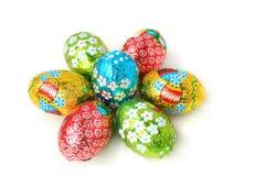Priorità bassa delle uova di Pasqua Immagini Stock