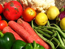 Priorità bassa delle verdure Fotografia Stock Libera da Diritti