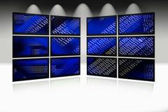 Priorità bassa dello schermo di computer Fotografie Stock