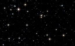 Priorità bassa dello spazio con le stelle Immagini Stock Libere da Diritti