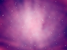 Priorità bassa dello spazio cosmico Fotografia Stock Libera da Diritti