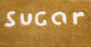 Priorità bassa dello zucchero Immagine Stock Libera da Diritti