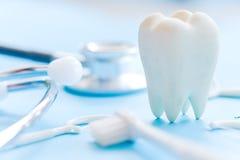 Priorità bassa dentale dell'igiene Fotografia Stock