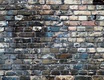 Priorità bassa dettagliata #2 stabilito del muro di mattoni Immagini Stock Libere da Diritti