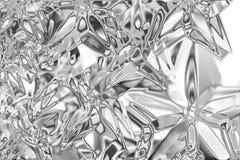 Priorità bassa di alluminio Fotografie Stock