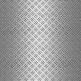 Priorità bassa di alluminio della zolla del diamante Fotografie Stock