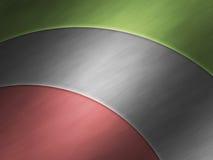 Priorità bassa di alluminio metallica moderna della zolla Immagini Stock Libere da Diritti