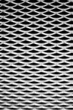 Priorità bassa di alluminio ondulata, astratta Immagine Stock