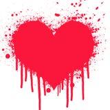 Priorità bassa di amore Immagine Stock