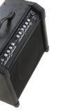 Priorità bassa di ampère della chitarra Fotografie Stock