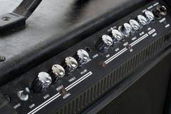 Priorità bassa di ampère della chitarra Fotografia Stock
