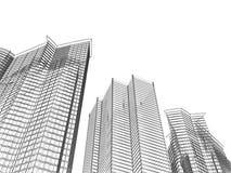 Priorità bassa di architettura Immagini Stock Libere da Diritti