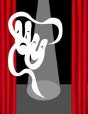 Priorità bassa di arti dello spettacolo royalty illustrazione gratis