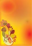 Priorità bassa di autunno illustrazione vettoriale