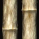 Priorità bassa di bambù con le ombre, mattonelle senza giunte illustrazione di stock