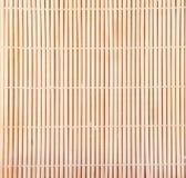 Priorità bassa di bambù della stuoia Immagine Stock Libera da Diritti