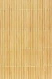 Priorità bassa di bambù della stuoia Fotografia Stock Libera da Diritti