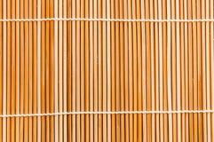 Priorità bassa di bambù tessuta del ramoscello Immagini Stock