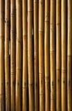 Priorità bassa di bambù verniciata Fotografia Stock