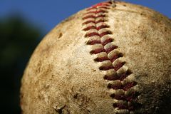 Priorità bassa di baseball Fotografia Stock