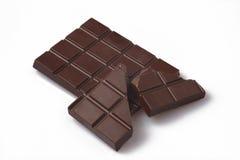 Priorità bassa di bianco del cioccolato fotografia stock