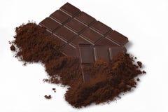 Priorità bassa di bianco del cioccolato fotografia stock libera da diritti