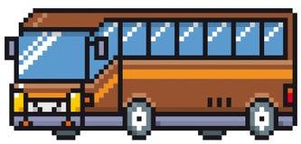 Priorità bassa di bianco del ovre del bus del fumetto Immagini Stock Libere da Diritti