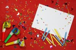 Priorità bassa di buon compleanno Immagini Stock