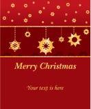 Priorità bassa di Buon Natale Fotografie Stock Libere da Diritti