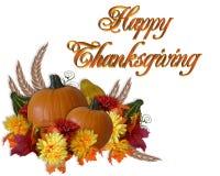 Priorità bassa di caduta di autunno di ringraziamento Immagini Stock Libere da Diritti