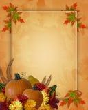 Priorità bassa di caduta di autunno di ringraziamento Immagine Stock Libera da Diritti