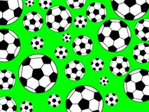 Priorità bassa di calcio Fotografia Stock Libera da Diritti