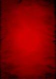 Priorità bassa di carta rossa sgualcita Fotografia Stock Libera da Diritti