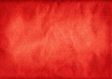 Priorità bassa di carta rossa strutturata Fotografie Stock