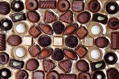 Priorità bassa di Chocolade Immagini Stock