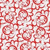 Priorità bassa di colore rosso del merletto illustrazione di stock