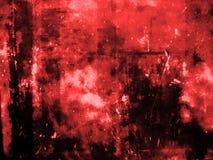 Priorità bassa di colore rosso di Grunge Immagini Stock