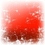 Priorità bassa di colore rosso di Grunge Fotografia Stock