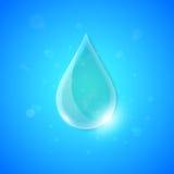 Priorità bassa di concetto dell'acqua Immagini Stock
