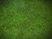 Priorità bassa di cuoio verde Fotografia Stock Libera da Diritti