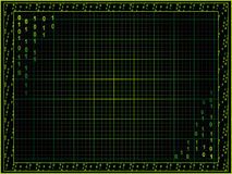 Priorità bassa di Cyberpunk Immagine Stock