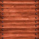 Priorità bassa di di legno Immagine Stock