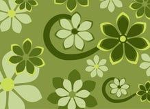 Priorità bassa di disegno floreale?, contesto, disegno dell'illustrazione Fotografia Stock Libera da Diritti