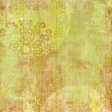 Priorità bassa di disegno floreale del batik di Artisti Fotografia Stock Libera da Diritti