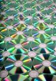 Priorità bassa di DVD Fotografia Stock