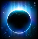 Priorità bassa di eclipse Immagine Stock Libera da Diritti