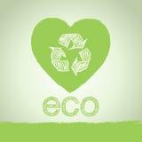 Priorità bassa di ecologia Immagine Stock