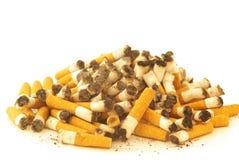 Priorità bassa di estremità di sigaretta Immagini Stock