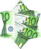 Priorità bassa di euro banconote Fotografie Stock Libere da Diritti