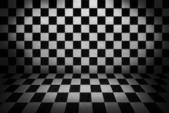 Priorità bassa di fase della scheda di scacchi Fotografie Stock